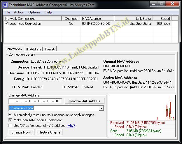 Cara Merubah MAC Address Di Laptop Dan Komputer